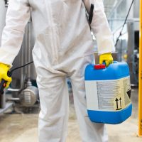 Which industrial sectors require routine pest control?